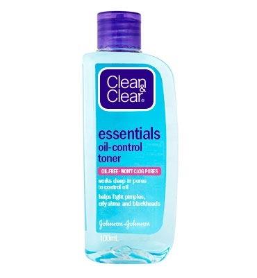 CLEAN & CLEAR® Essentials Oil-Control Toner 100mL