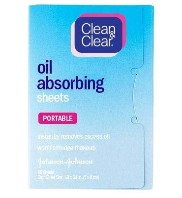 CLEAN & CLEAR® Oil Absorbing Sheets